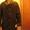 дублёнка, мужская, цвет тёмно-коричневый #1013420