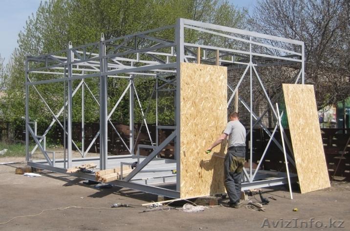 Из чего построить павильон своими руками 4